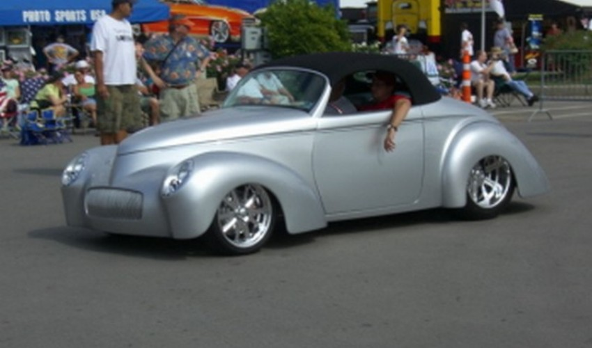 mini-41 Willys Silver conv